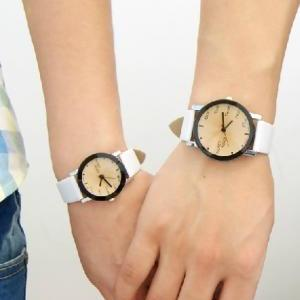 Retro belt female students watch --..