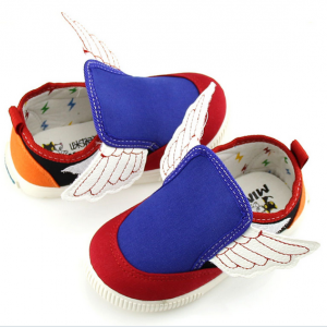Children's casual canvas shoes