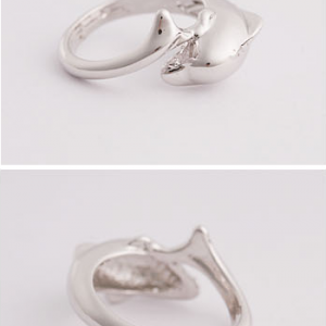 Jumping Dolphin Ring
