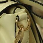 perfect dimensional bow handbag whi..