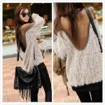 New long-sleeved fashion trend of w..